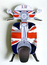 Scooter Fridge Magnet, Union Jack Sooter, SX LI TV GP Scooter Fridge Magnet, Mod