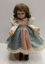 Robin Woods Doll Expressive Face Wearing Pinafore Bloomers Stockings Mary Janes