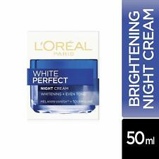 L'Oreal Paris White Perfect Night Cream Whitening + Even Tone Reduce Spots 50ml