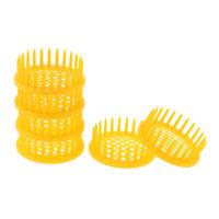 6Pcs Plastic Needle Cage Queen Bee Cage Beekeeping Equipment