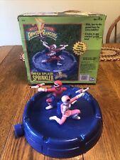 RARE Vtg 1994 Mighty Morphin Power Rangers Mega Splash Sprinkler Excellent Cond.