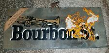 Roofing slate Rue Bourbon Street about175 years old Vieux Carre LA New SAXOPHONE