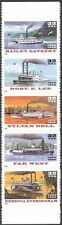 USA 1996 River Boats/Paddle-Vapeur/Vapeur/transport 5 V S/Une Bande (n42840)