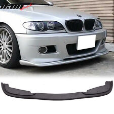 99-06 BMW E46 3 Series H Style PP Front Bumper Lip For Aftermarket M Bumper