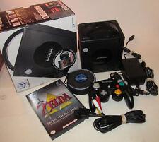 Nintendo GameCube Black Zelda Collector's Edition Complete Cib Console System