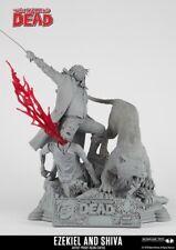 Ezekiel and Shiva (Unpainted Artist Proof) Statue McFarlane Collectors Club EXCL