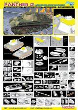 DRAGON GERMAN PANTHER G Scala 1/35 Cod.6897