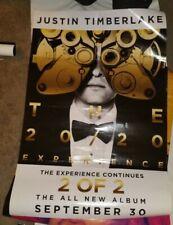 Justin Timberlake 20/20 Poster