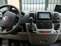 AUTORADIO FIAT DUCATO Navigatore GPS ANDROID 8.1 WI-FI 4G Usb Dab + Retrocamera