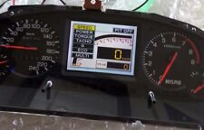 Nismo Navi in LCD cluster replacement screen R33 GTR speedo ej1 BCNR33 240km