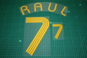 Flocage RAUL Espagne - maillot  Patch Football Spain