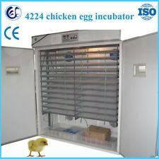 Automatic chicken/goose/duck egg incubator 4224 pcs SEA CUSTOM PICKING