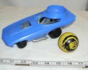 MATTEL WIZ-Z-ZER PIT BOSS SPIN BUGGY CAR TOY SPIN TOP