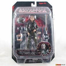 Battlestar Galactica Starbuck Kara Thrace Viper pilot uniform BSG figure - worn