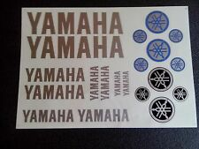 Yamaha  Aufkleber Silber Yamaha Stickers Silver