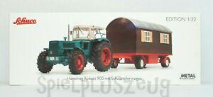Schuco Edition 1:32 Hanomag Robust 900 mit Schaustellerwagen NEU