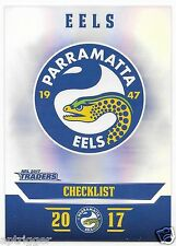 2017 NRL Traders Parallel Special (PS091) EELS Check List