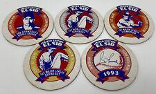 Lot 5 El Sid Sid Fernandez El Sid Baseball Hawaii  Mets Pitcher POG Milk Cap