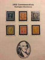 US 20th Century stamp collection 1914-1925 11 album pages Used & Unused H