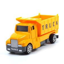 Modellini statici camion gialli