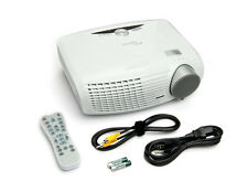 "Optoma HD180 1080p DLP Home Theater Projector, 1700 Lumens, 2 HDMI, 300"" Screen"