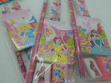 X 12 Princess Stationery Sets Children's Stocking Filler Party Bag Xmas Job Lot