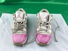 Girls' PS Air Jordan Retro 11 Low Basketball Shoes 580522 108 Size 1Y