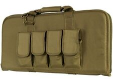 "VISM Short Rifle Case 28"" Tactical Small Rifle Bag Carbine Rifle Bag TAN-"