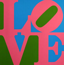 "Robert Indiana       ""Book of Love""    1996   Serigraph"