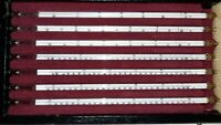 Anschütz-Präzisions-Thermometer Satz DIN 12777 Komplett Satz Geeicht 0-360°C