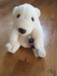Kuschelteddys Plüschtiere Spielzeug Kinder Teddys Coca Cola Bär
