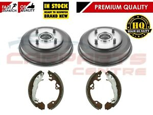 FOR FORD FOCUS MK1 1998-2004 REAR BRAKE SHOE SHOES AND BRAKE DRUMS BRAND NEW