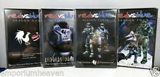 Red vs Blue Complete Seasons One to Four DVD Classic Halo Comedy FREE UK P&P