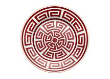 Richard Ginori - Labirinto Rojo Escarlata - 6 platos postre cm 22 Detallista