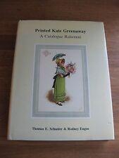 Printed Kate Greenaway - A Catalogue Raisonne reference catalogue