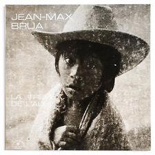 JEAN-MAX BRUA La treve de l'aube french chant du monde LDX74579 STEREO LP