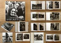 DON McCULLIN  - IN ENGLAND - FIRST EDITION PHOTOBOOK