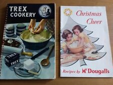 More details for vintage mcdougall's and trex cookery booklets. christmas recipes.  1950s vgc