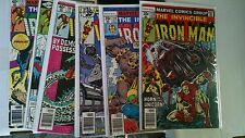 Iron Man Comic of 150 VG-NM bagged boarded 113-318 bagged boarded