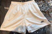 Umbro (Large) White Sports Football Shorts Mens