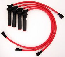 Eclipse 2.0L DOHC Turbo High Performance 10 mm Red Spark Plug Wire Set 28148R