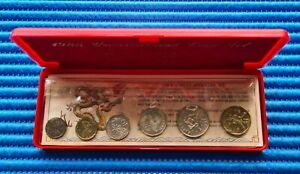 Singapore Uncirculated Coin Set 1988