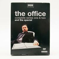 The Office Original Complete 1 And 2 Season Series DVD W Special Ricky Gervais