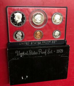 1979 US MINT PROOF SET WITH BOX & COA