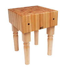 John Boos Ab05 24 X 24 Boos Block Butchers Block Table