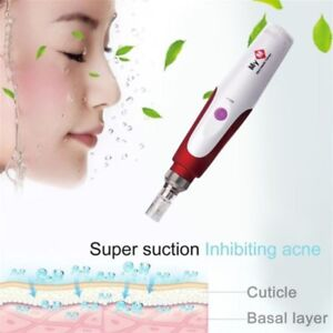 Auto Derma Dr Pen Stamp Electric Micro Needle Roller Anti Aging Skin Therapy CE