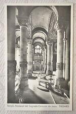 """CPSM """" TIBIDABO - Templo Nacional dei Sagrado Corazon de Jesus"""