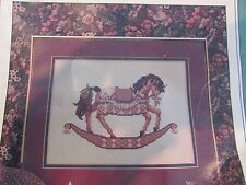 Teresa Wentzler - Dreamscape Diamond carousel horse counted cross stitch leaflet