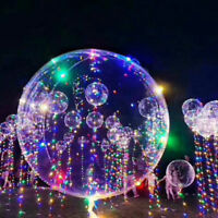 30 LED Lichterketten Helium Ballon Weihnachten Hochzeit Dekoration 18 zoll Neu