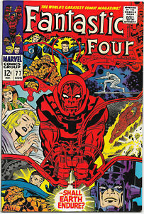 Fantastic Four #77 Marvel 1968 Stan Lee Jack Kirby, Silver Surfer; Galactus NM